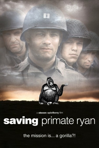 A World Without Proof Readers: Saving Primate Ryan