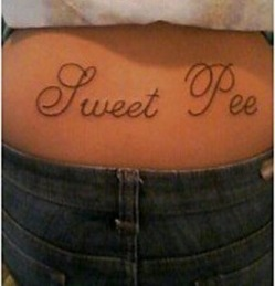 Proof reader needed at tattoo parlour.